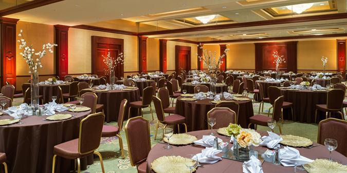 Hilton Washington Dulles Airport wedding Washington DC