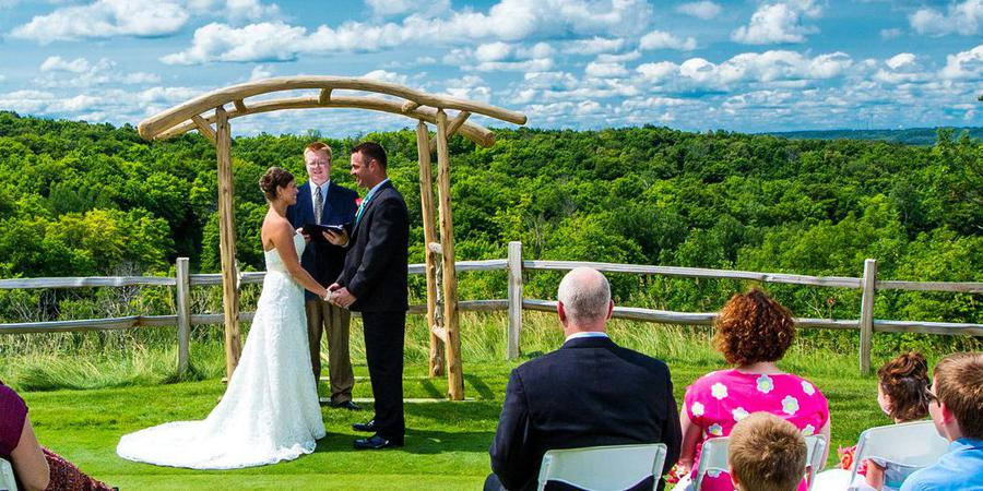 Treetops Resort wedding Traverse City