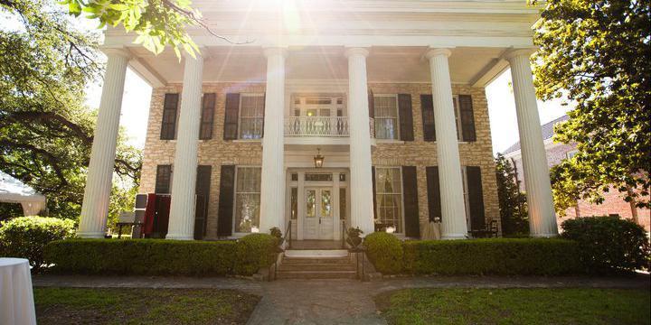 Neill-Cochran House Museum wedding Austin