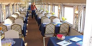 Nevada State Railroad Museum wedding Las Vegas