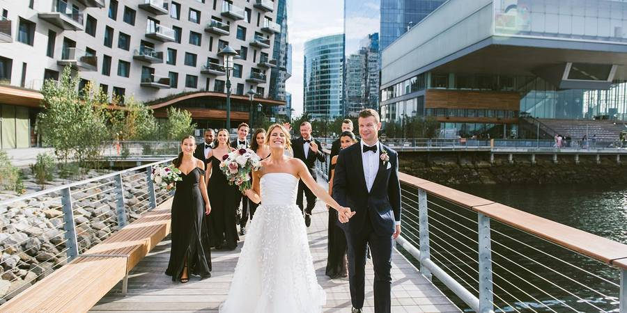 Institute of Contemporary Art wedding Boston