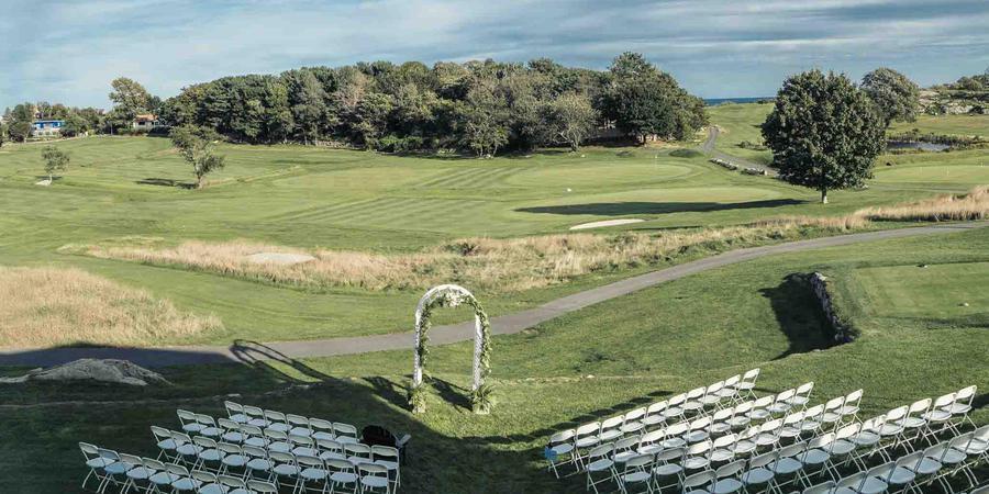 Bass Rocks Golf Club wedding North Shore