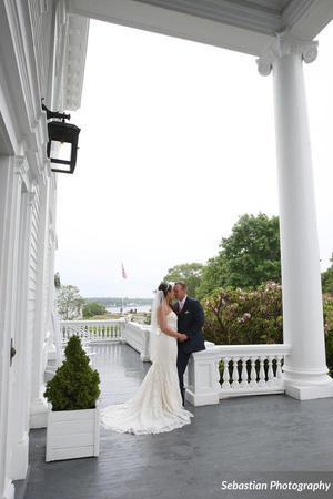 Inn At Mystic wedding New London