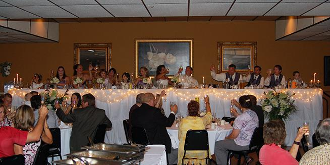 Viking Lanes wedding Milwaukee