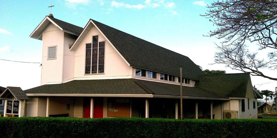 Hookano Hall At St Johns By The Sea Episcopal Church wedding Oahu