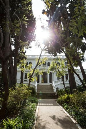 Fenyes Estate Garden at Pasadena Museum of History wedding Los Angeles
