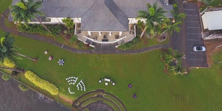Wainaku Executive Center wedding Hawaii (Big Island)
