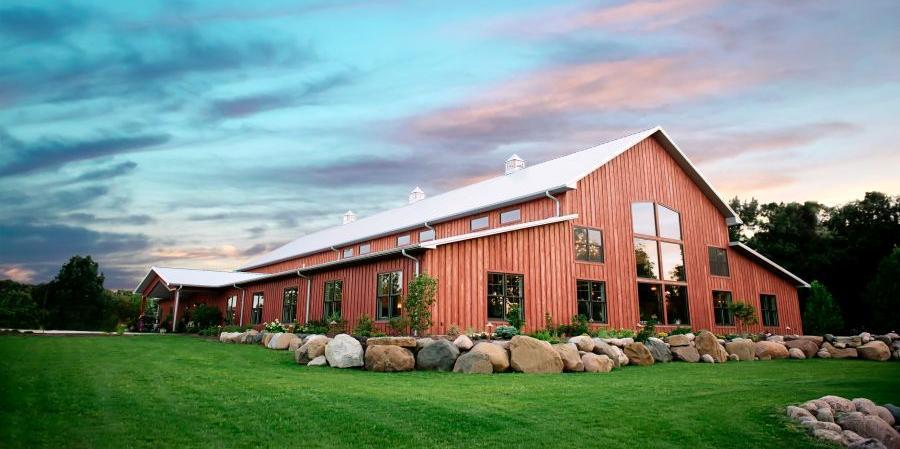 The Barn at Hornbaker Gardens wedding Chicago