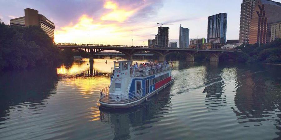 Lone Star Riverboat wedding Austin