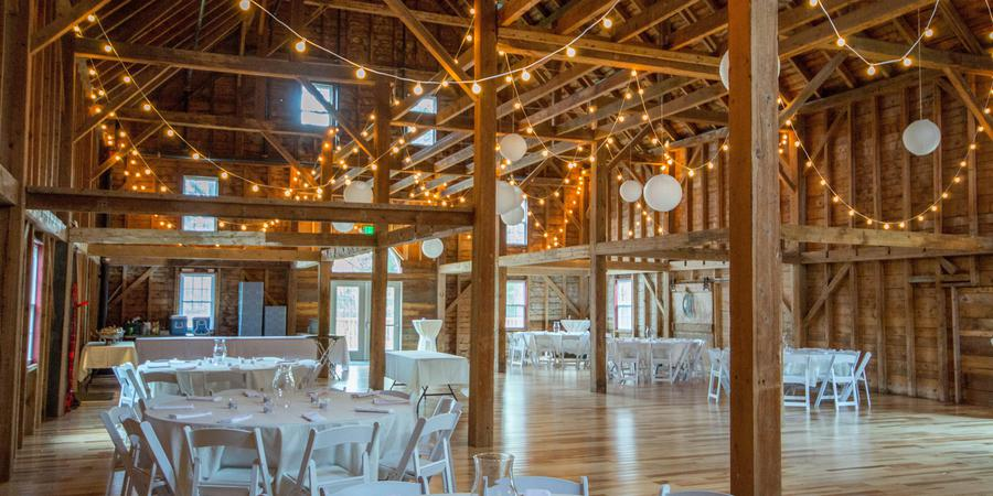 1888 Wedding Barn  in scenic Sunday River Valley Area wedding Maine