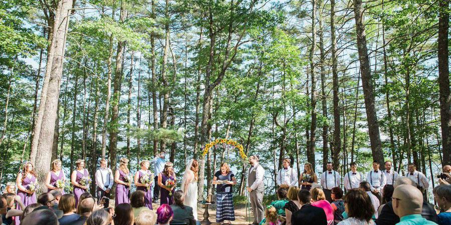 Camp Cody wedding New Hampshire