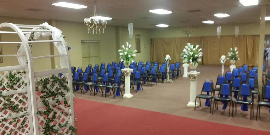 All Occasions Event Hall wedding Houston