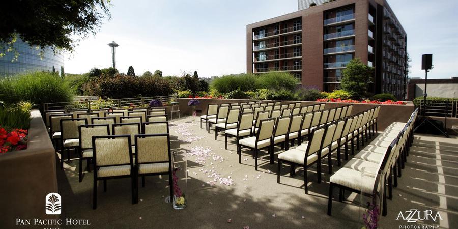 Pan Pacific Hotel Seattle wedding Seattle