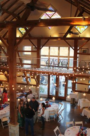 Kairos The Celebration Barn wedding Hill Country