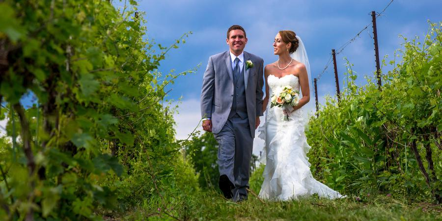 Zugibe Vineyards wedding Finger Lakes
