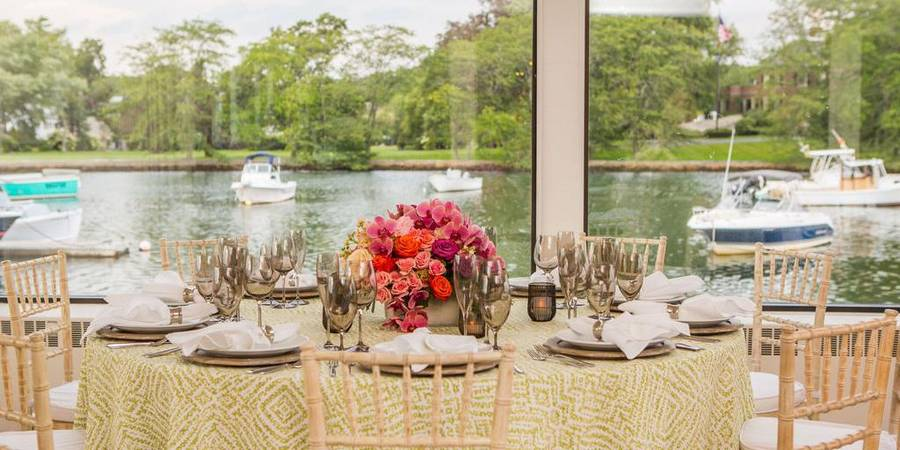 Atlantica on Cohasset Harbor wedding South Shore