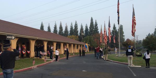 American Legion Post 509 wedding Central Valley
