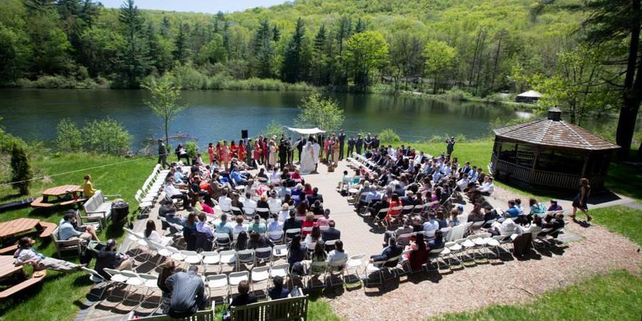 Isabella Freedman Jewish Retreat Center wedding Litchfield