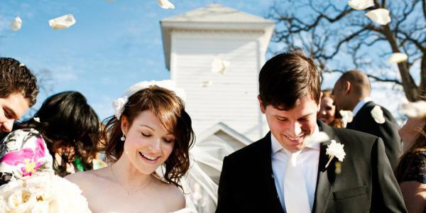 Hyde Park Presbyterian Church wedding Austin