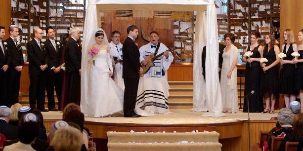 Peninsula Temple Sholom wedding Peninsula