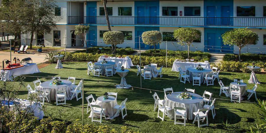 Postcard Inn On The Beach wedding Tampa