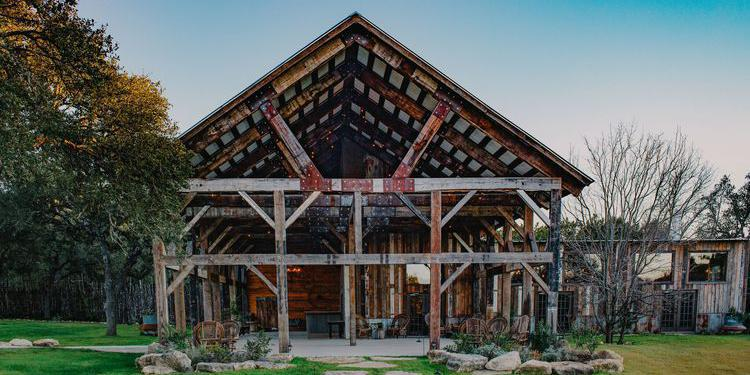 The Creek Haus wedding Hill Country