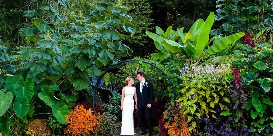 The Atrium at Meadowlark wedding Northern Virginia
