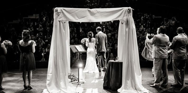 The Mead Center for American Theater wedding Washington DC