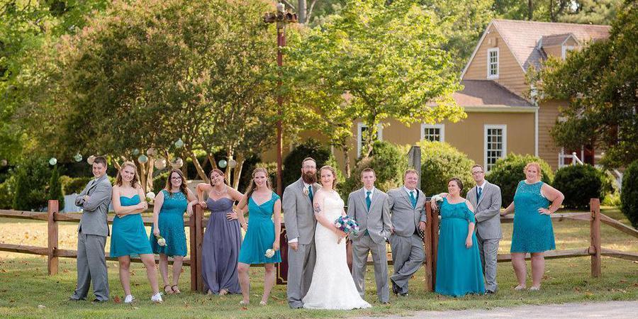 Cary Hill 1741 wedding Virginia Beach
