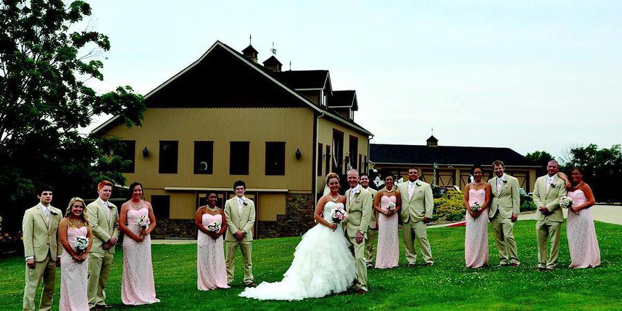Peacock Ridge wedding Cleveland