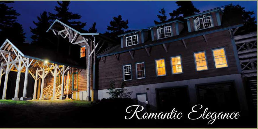 Cliffside Lodge At Camp North Star wedding Maine
