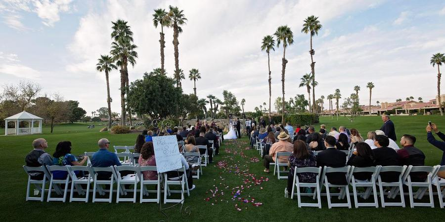 The Woodhaven Country Club wedding Palm Springs