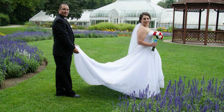 Horticultural Center wedding Chicago