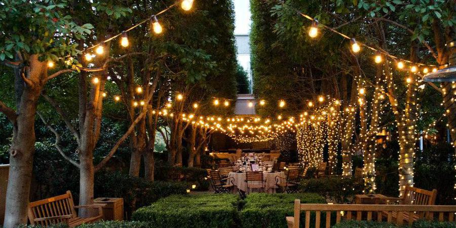 Marie Gabrielle Restaurant and Gardens wedding Dallas