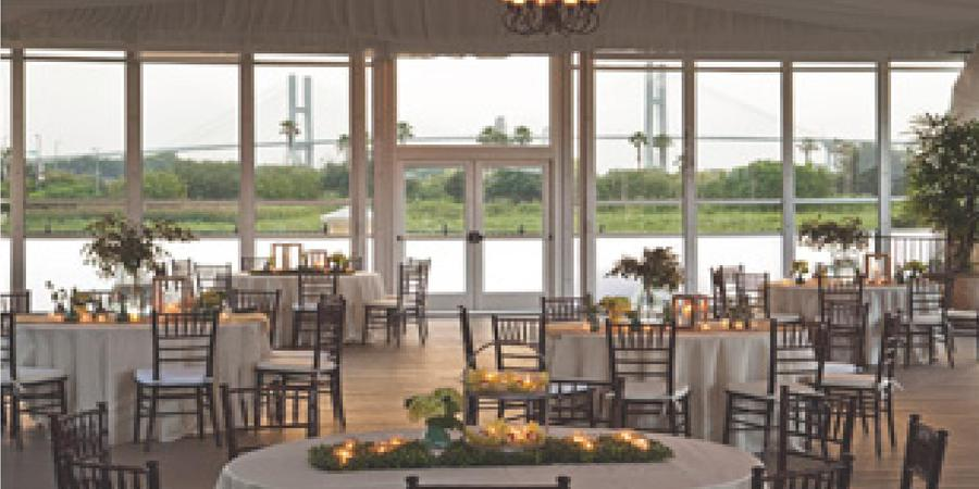 The Club at Savannah Harbor wedding Savannah