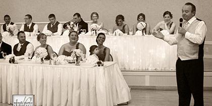 St. George Banquet Center wedding Detroit