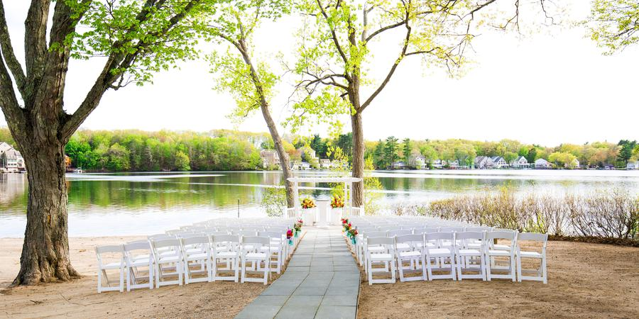 Lake Pearl Wrentham wedding Boston
