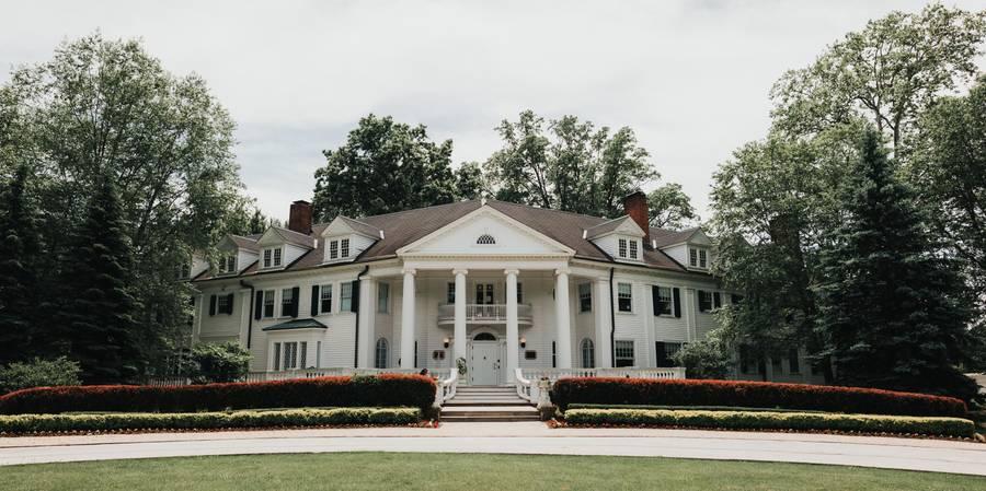 Mooreland Mansion at Lakeland Community College wedding Cleveland