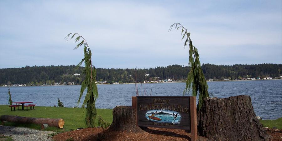 Allyn Kayak Park wedding Seattle