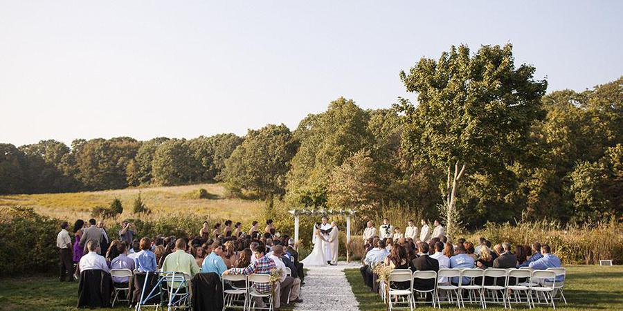 The Meadows wedding New London
