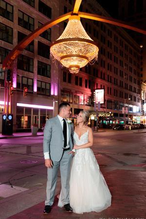 Crowne Plaza Cleveland At PlayhouseSquare wedding Cleveland