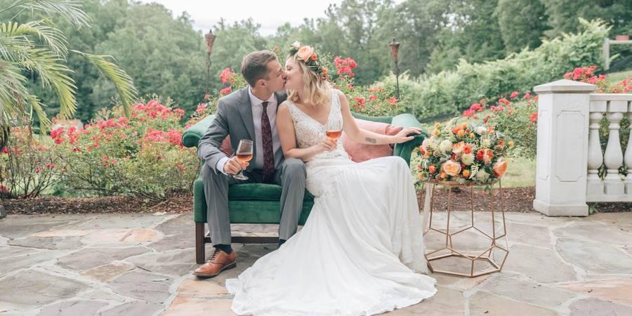 Potomac Point Winery wedding Fredericksburg