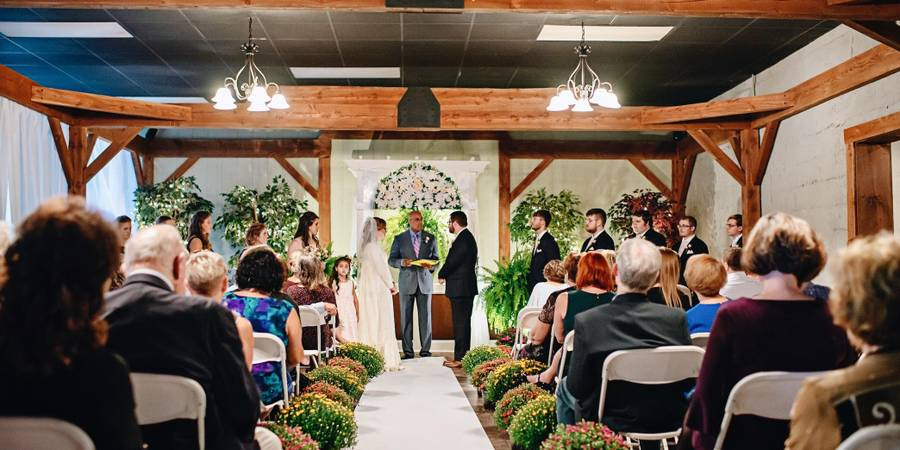 The Cellars at Brookpark wedding Central PA
