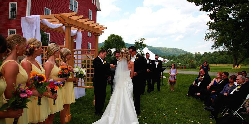 Farmhouse Inn At Robinson Farm wedding Vermont