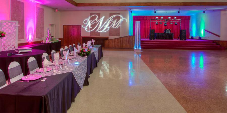 Crown Ridge Banquet Hall wedding San Antonio