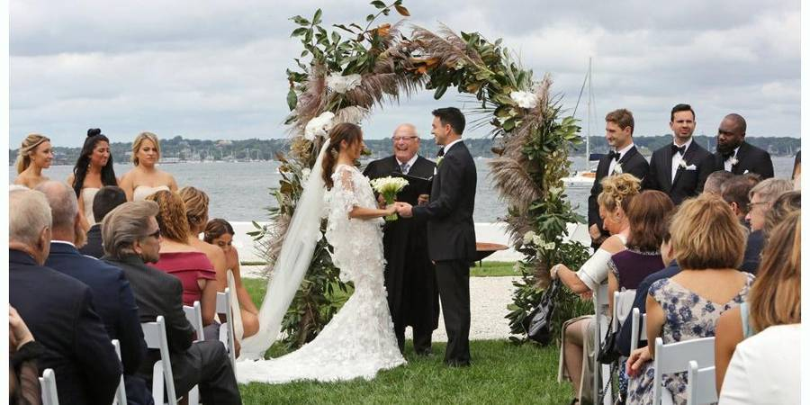 Belle Mer wedding Coastal Rhode Island