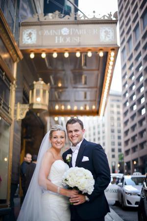 Omni Parker House wedding Boston