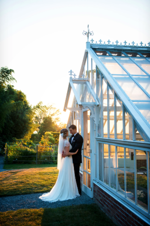 Blithewold Mansion Gardens & Arboretum wedding Coastal Rhode Island