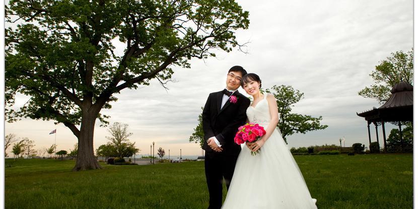 Highlawn Pavilion wedding North Jersey