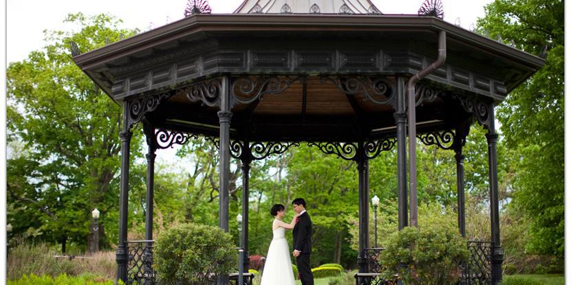 Highlawn Pavilion wedding North Jersey
